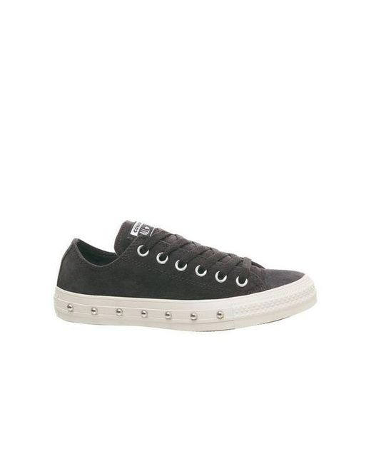 ccf1b55af1fc Converse All Star Low Trainers By Office in Black - Lyst