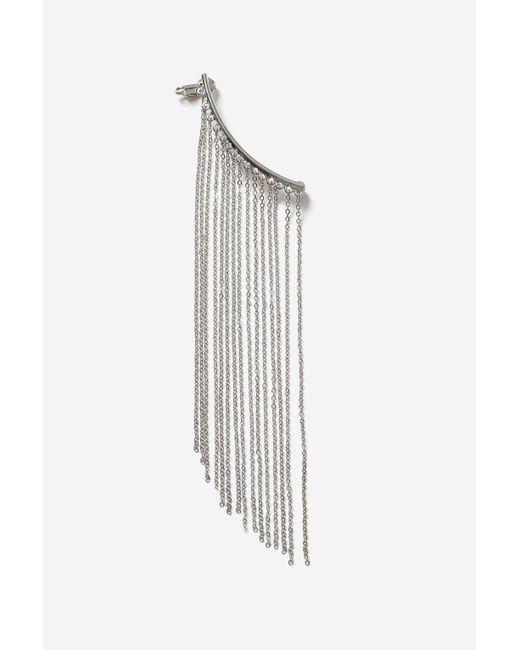TOPSHOP | Metallic Chain Drape Earcuff | Lyst