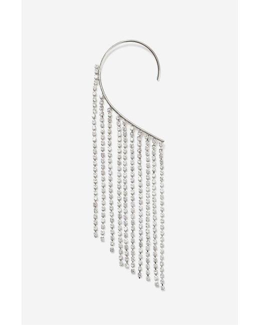 TOPSHOP | Multicolor Cupchain Drape Earrings | Lyst