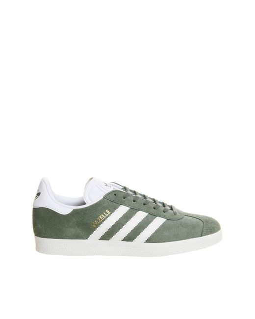 Office | Green Gazelle Trainers By Adidas Originals | Lyst