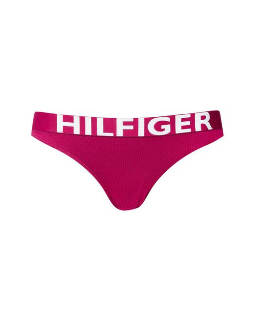 Tommy Hilfiger | Red Bikini Knickers By | Lyst
