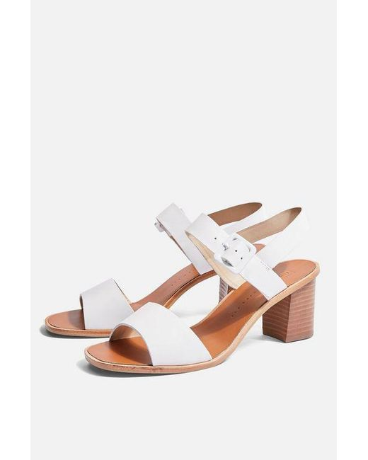 ea88350d783 Women's White Nancy Wide Fit Sandals