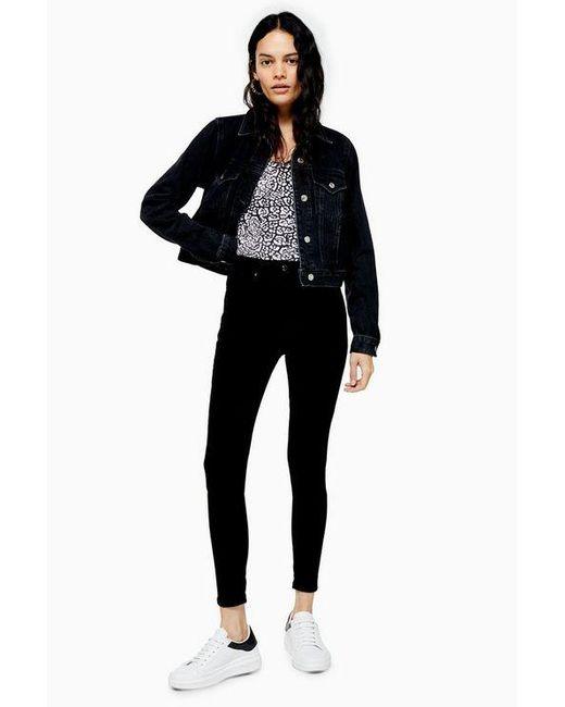TOPSHOP Black Purejamie Skinny Jeans