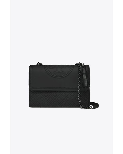 Tory Burch - Black Fleming Matte Convertible Shoulder Bag - Lyst