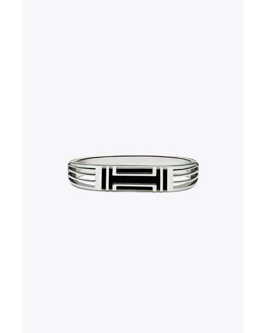 Tory Burch - Metallic For Fitbit Metal Hinged Bracelet - Lyst