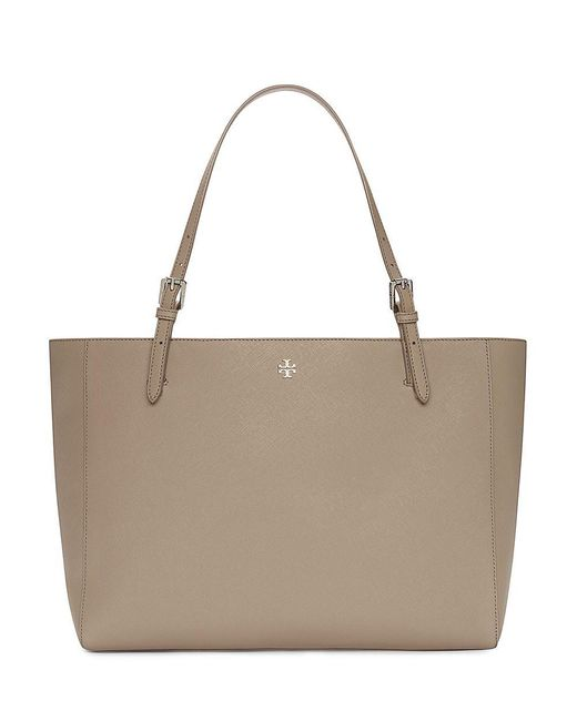 Tory Burch | Gray York Buckle Tote | Lyst