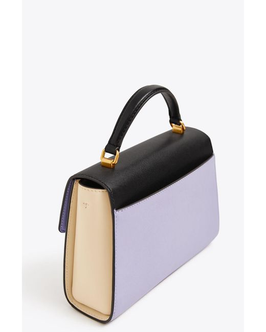 dab6050a0203 ... Tory Burch - Black Juliette Color-block Small Top-handle Satchel