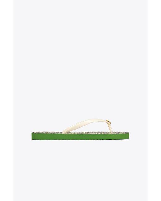 Tory Burch - Multicolor Printed Thin Flip-flop - Lyst