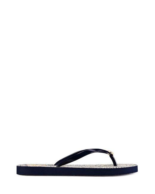 Tory Burch | Blue Thin Flip-flop | Lyst