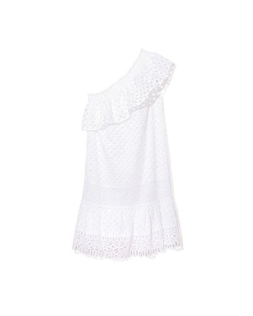 Tory Burch | White Zoe Dress | Lyst