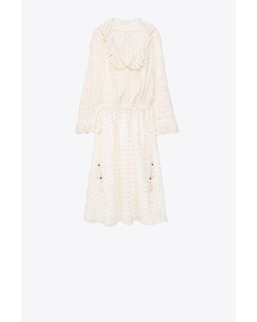 Tory Burch - White Jasmine Dress - Lyst