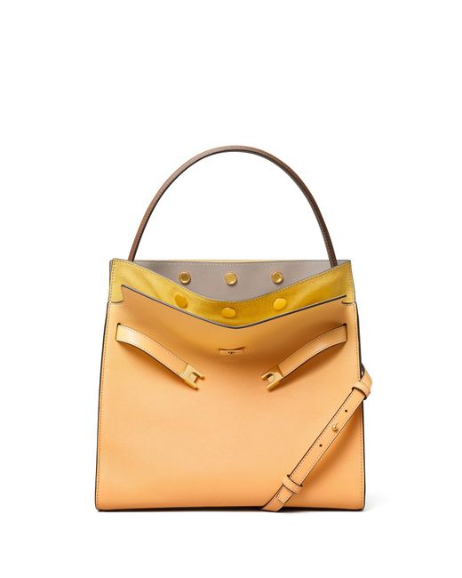 Tory Burch Multicolor Lee Radziwill Double Bag