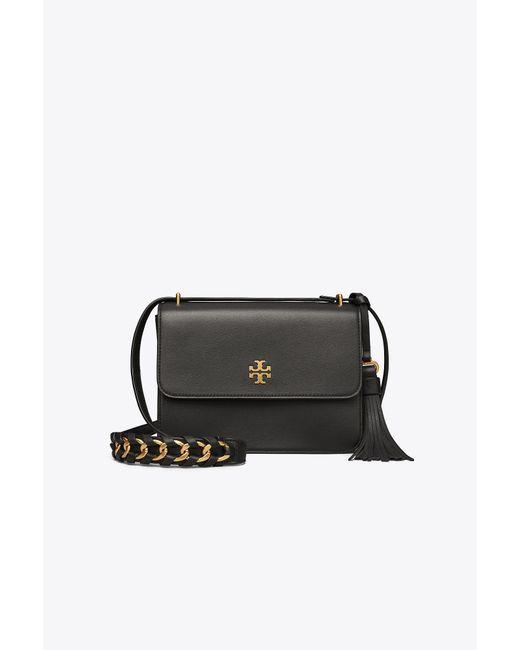 Tory Burch | Black Brooke Shoulder Bag | Lyst