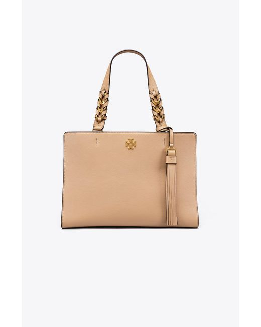 Tory Burch - Natural Brooke Satchel - Lyst