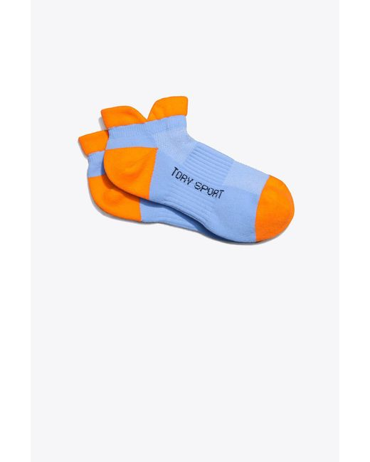 Tory Sport - Blue Tory Burch Performance Compression Color-block Socks - Lyst