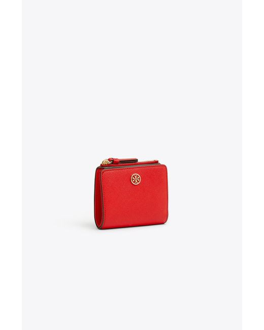 Tory Burch Red Robinson Mini Wallet
