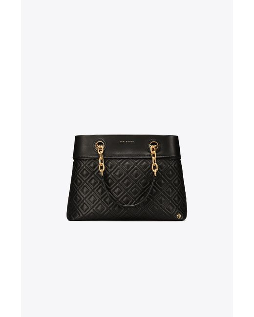 Tory Burch - Black Fleming Small Tote - Lyst