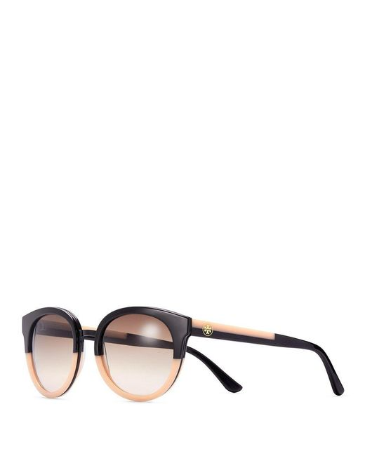 Tory Burch | Black Panama Sunglasses | Lyst