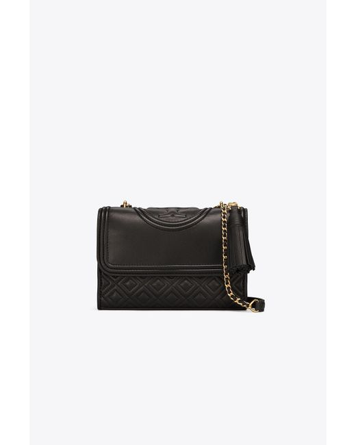 Tory Burch - Black Fleming Small Convertible Shoulder Bag - Lyst