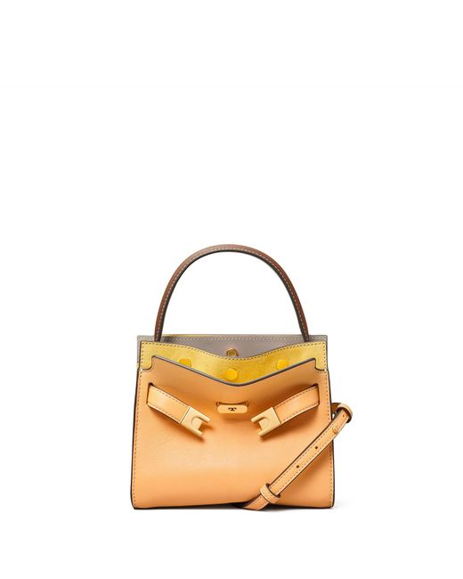 Tory Burch Multicolor Lee Radziwill Petite Double Bag
