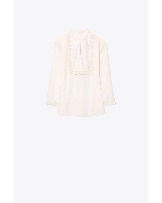 Lizzie cotton tunic top Tory Burch Fake Cheap Price VQveh81oN