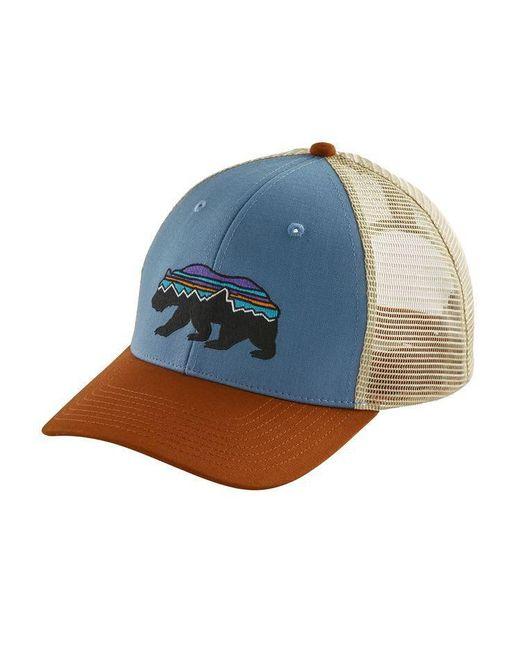 934aefb90e0 Patagonia - Multicolor Fitz Roy Bear Trucker Hat for Men - Lyst ...