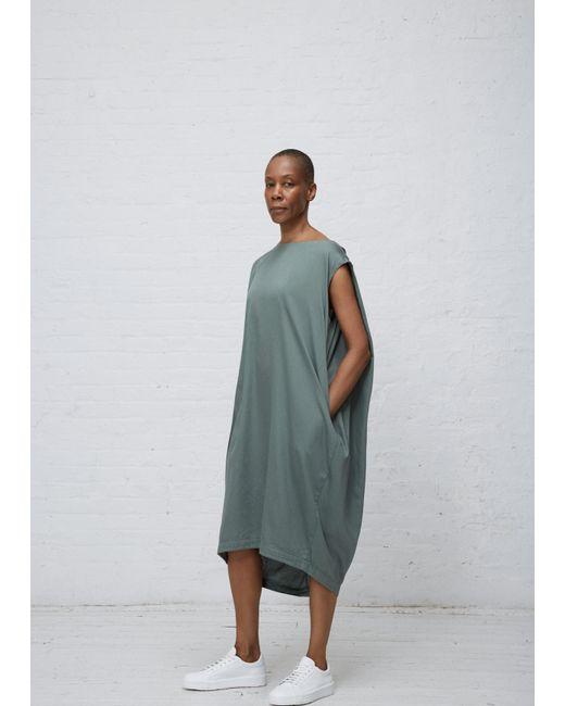 Black Crane | Green Dark Forest Accordion Dress | Lyst