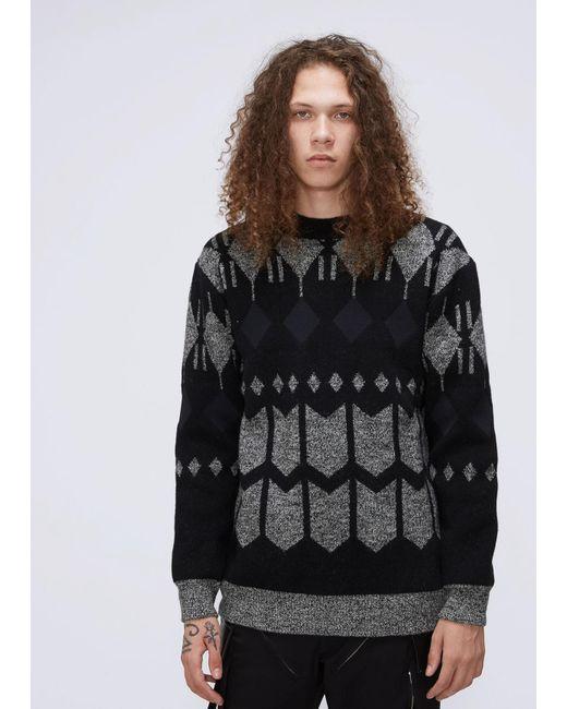 Junya Watanabe - Black Wool Sweater for Men - Lyst