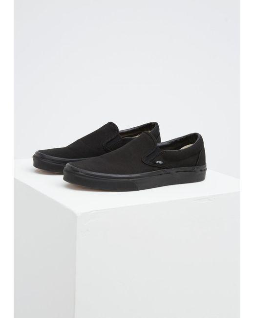 7367ea1d0a1 Vans - Black Men s Ua Classic Slip-on Sneaker for Men - Lyst ...