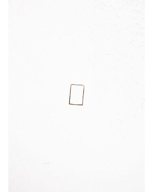 Shihara - Metallic Form Earring 02 20 - Lyst