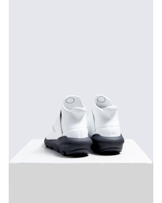 info for 6f553 a6fbc ... Y-3 - White Suberou Sneaker for Men - Lyst ...