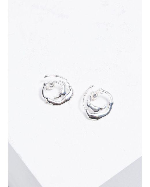 Ellery - Metallic Coutts Collage Earrings - Lyst