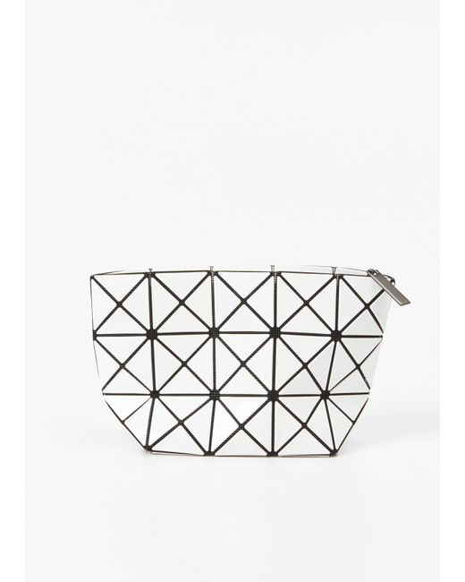 Bao Bao Issey Miyake | White Prism Pouch | Lyst