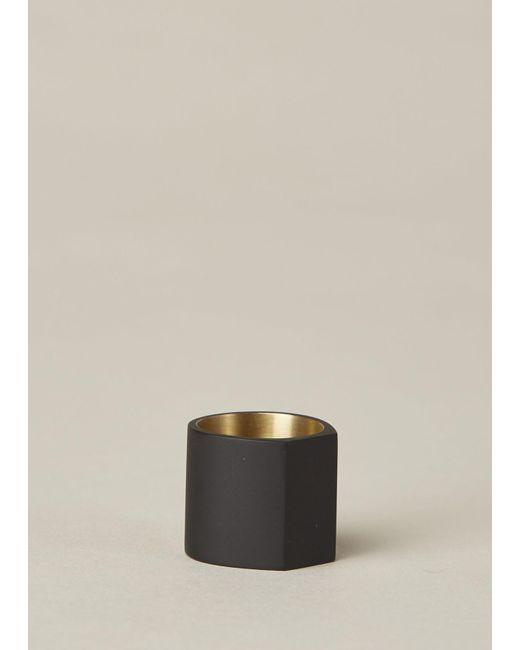 Ming Yu Wang | Metallic Matte Black / Brass Primer Ring | Lyst