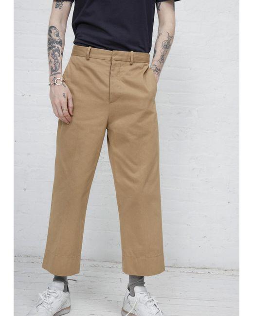 Marni | Natural Beige Cotton Trouser for Men | Lyst