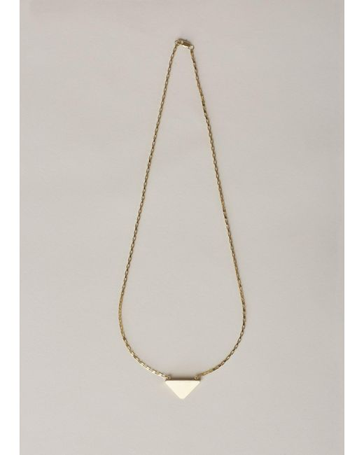 Ming Yu Wang | Multicolor Brass Tooth Mini Necklace | Lyst