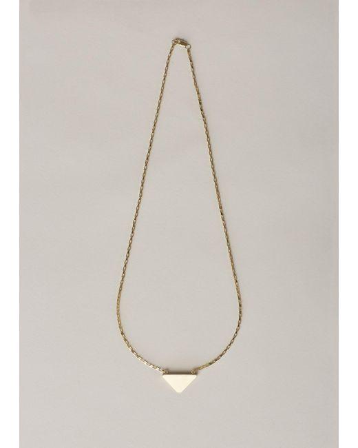 Ming Yu Wang | Metallic Brass Tooth Mini Necklace | Lyst