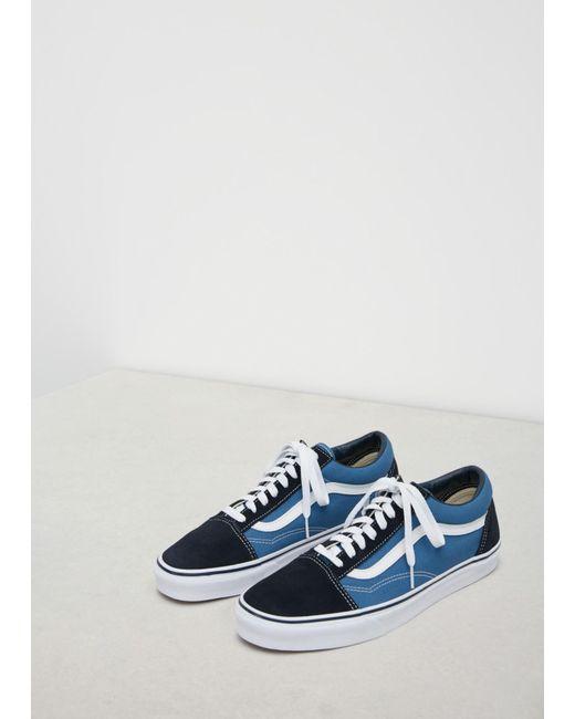 5215554e150902 Vans - Blue Navy Men s Ua Old Skool Sneaker for Men - Lyst ...