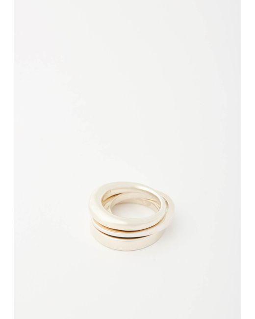 Gabriela Artigas - Metallic Infinite Tusk Ring - Lyst