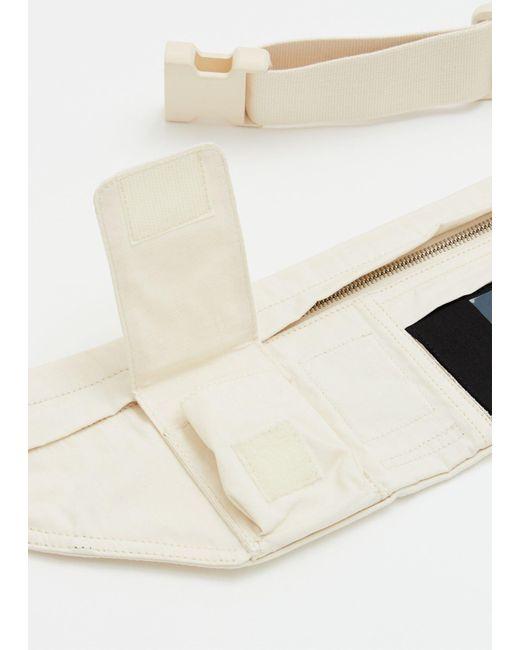 1789140fe ... DRKSHDW by Rick Owens - Natural Belt Bag for Men - Lyst ...