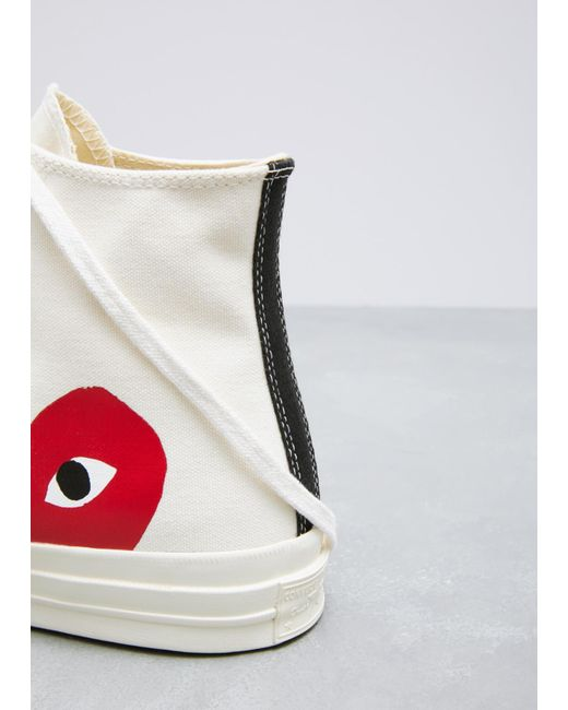 777c32370086 ... COMME DES GARÇONS PLAY - Natural Play Converse 70s Chuck Taylor  High-top Sneaker for ...