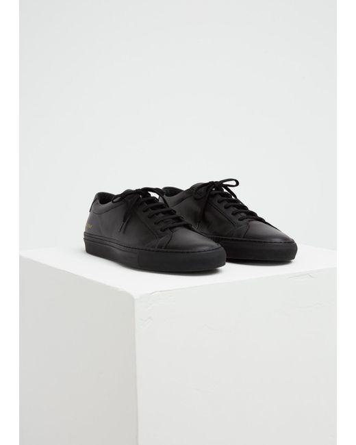 d3b13ec05201 Common Projects - Black Original Achilles Low Sneaker for Men - Lyst ...