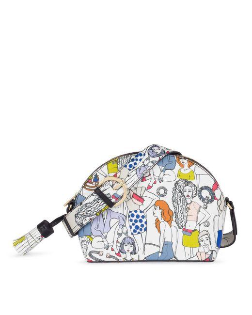 Tous Multicolor Medium Multi-black Tribe Crossbody Bag