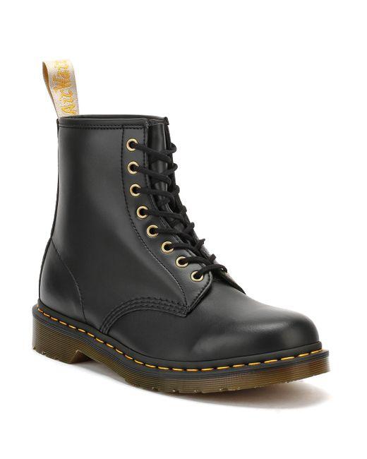 Dr. Martens Dr. Martens 1460 Vegan Felix Rub Off Womens Black Boots