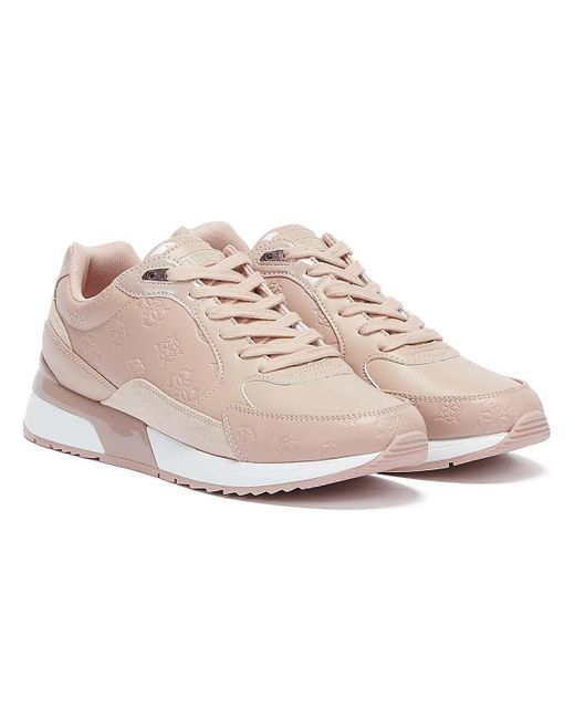 Guess Pink Moxea 2 Trainers