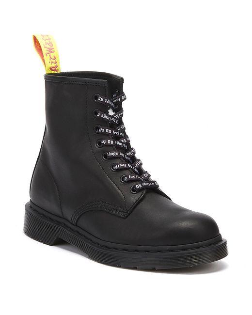 Dr. Martens Dr. Martens Sxp 1460 Sex Pistols Black Greasy Boots for men