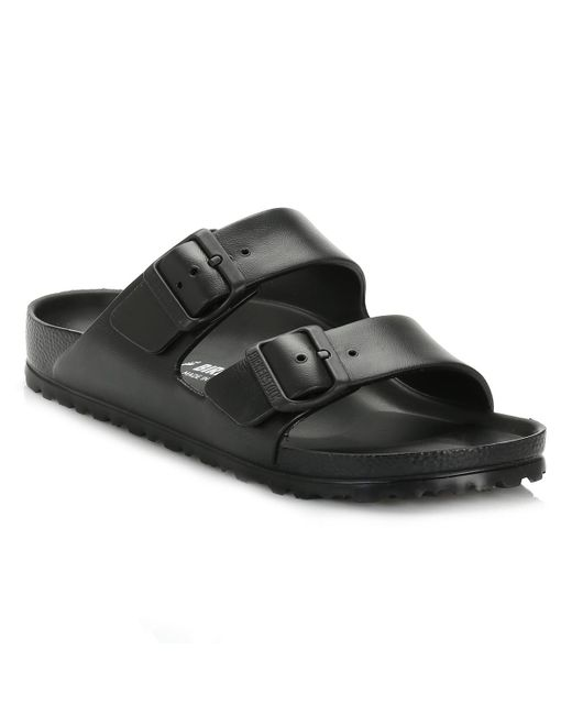 Birkenstock Womens Black Arizona Eva Sandals Women's Mules / Casual Shoes In Black
