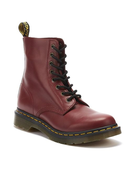 Dr. Martens Dr. Martens 1460 Pascal Wanama Womens Cherry Red Boots