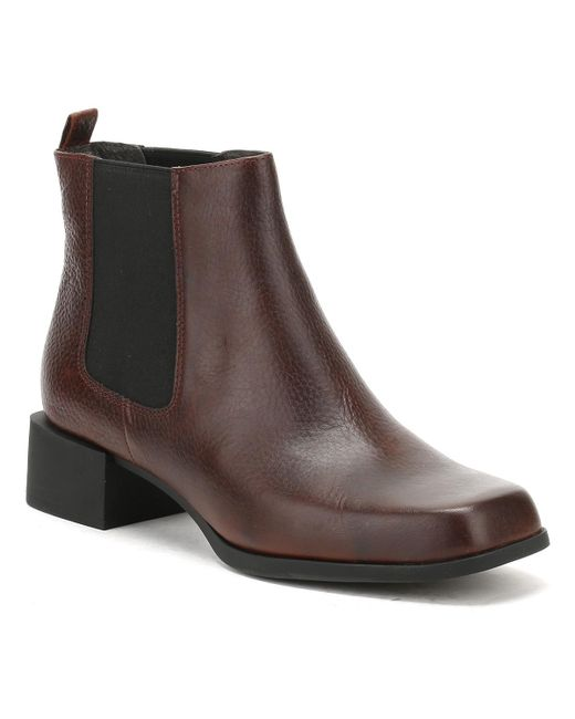Camper - Womens Cigar Brown Kobo Ankle Boots Women's Mid Boots In Brown - Lyst