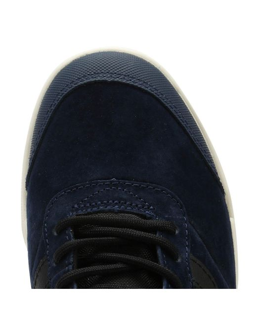 eeb72e1024 ... Vans - Ultrarange Hi Mte Mens Blue Trainers for Men - Lyst ...